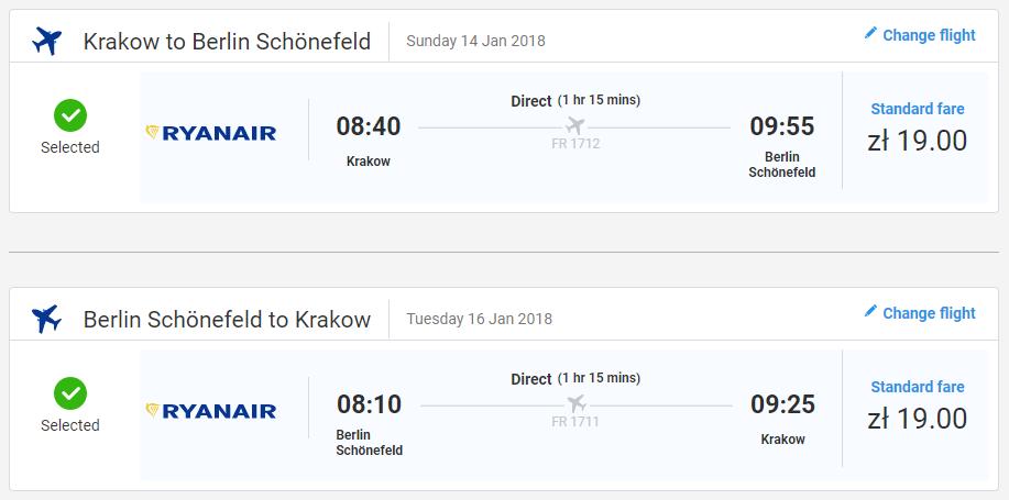 Berlín z Krakova s letenkami už od 9 eur