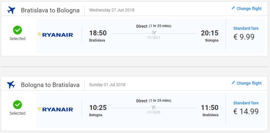 Bologna z Bratislavy začiatkom letných prázdnin od 25 eur