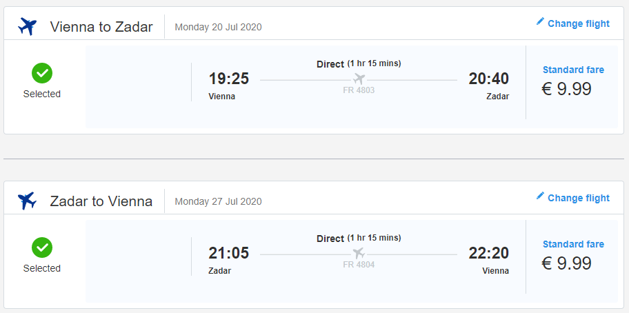 CHORVÁTSKO - Zadar z Viedne cez letné prázdniny s letenkami od 20 eur