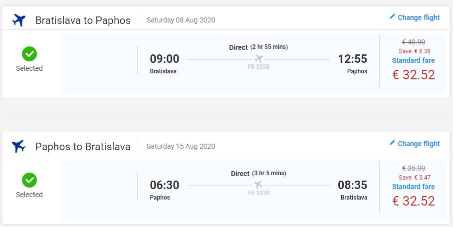 CYPRUS - Paphos z Bratislavy cez leto s letenkami od 65 eur