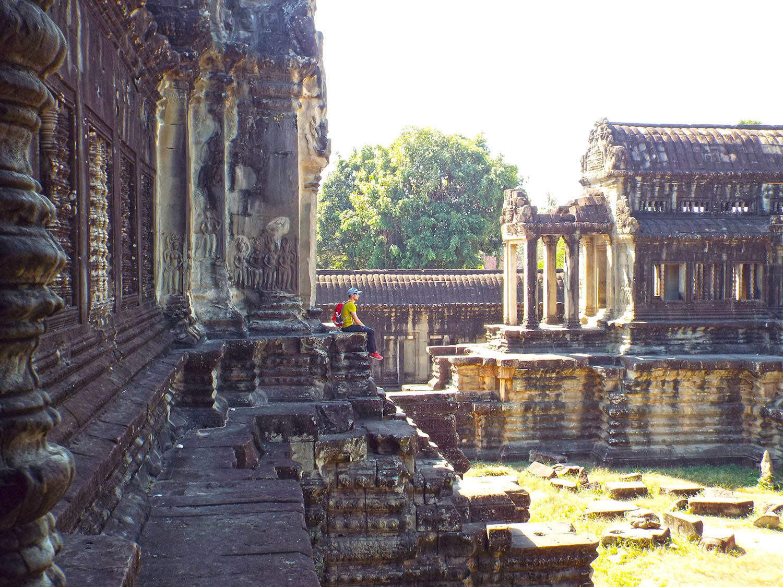 Chram Angkor wat.