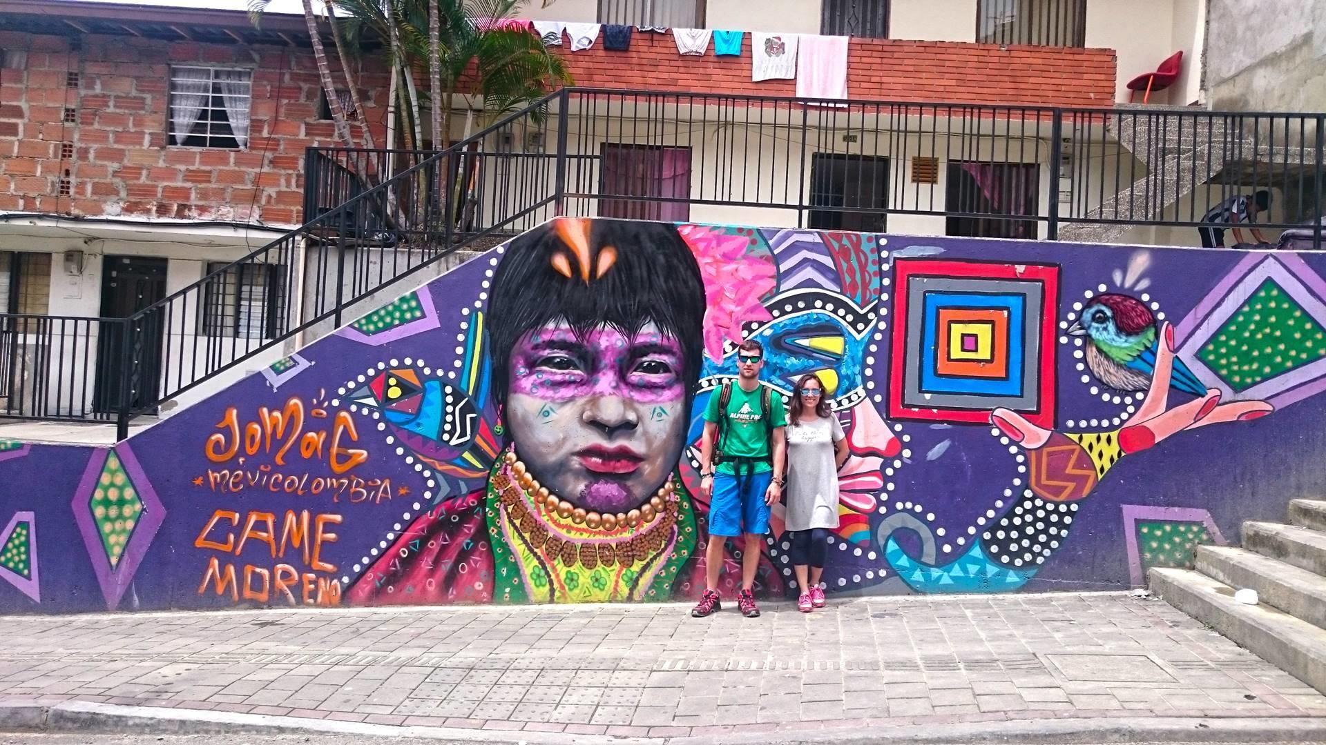 Comuna 13 grafitti