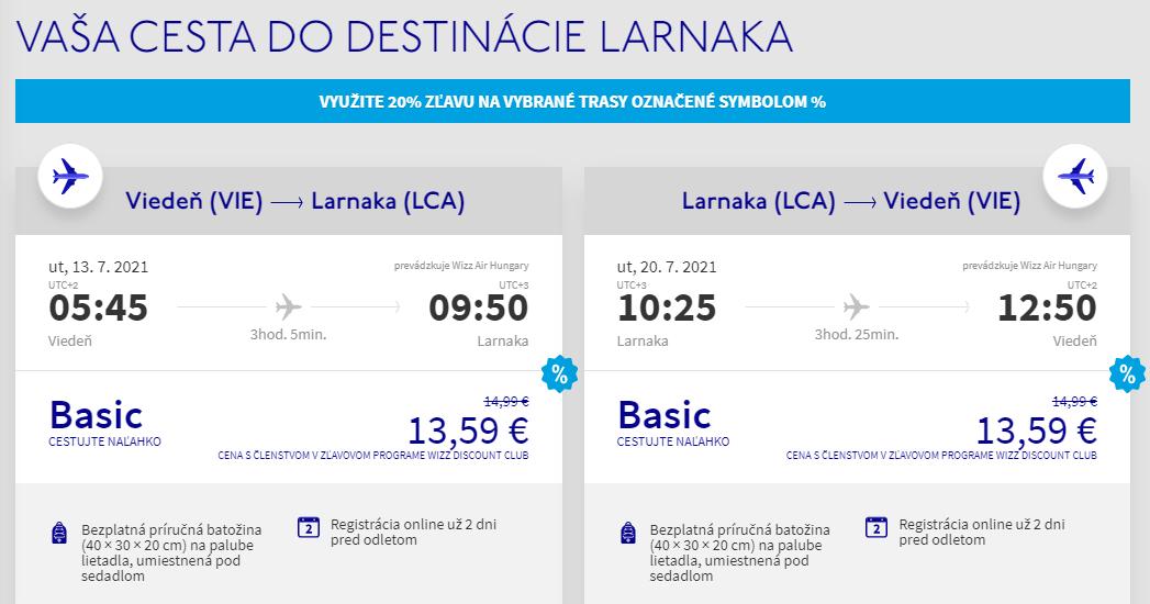 Cyprus cez letné prázdniny. Larnaka z Viedne s letenkami od 27 eur