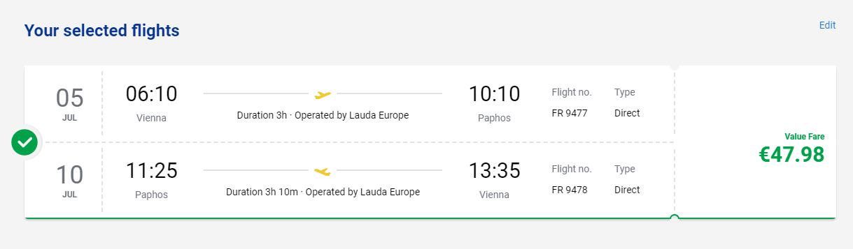 Cyprus cez letné prázdniny. Larnaka z Viedne s letenkami od 48 eur