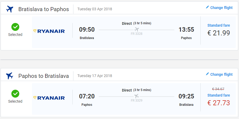 Cyprus v jarných termínoch. Paphos z Bratislavy s letenkami od 49 eur