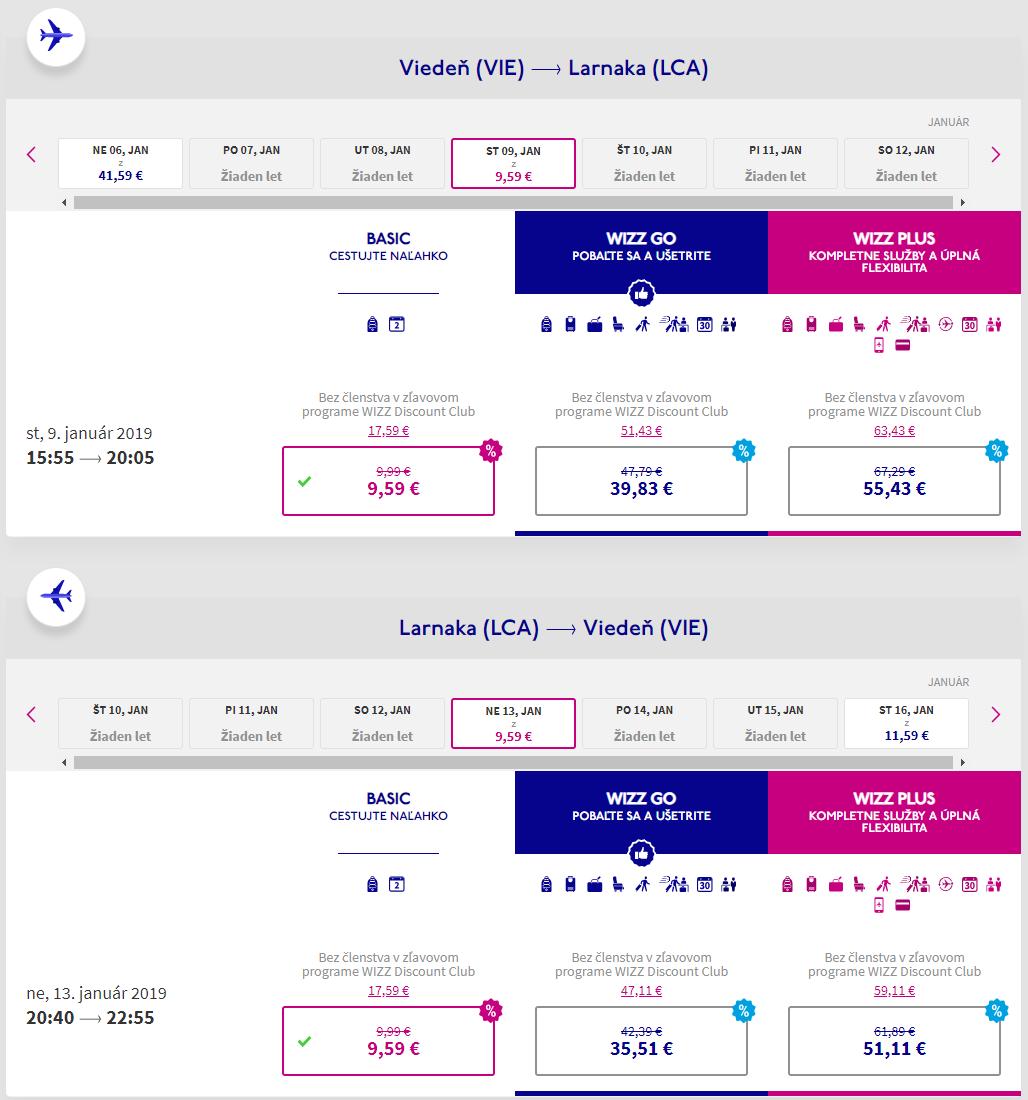 Cyprus z Viedne aj na predĺžený víkend s letenkami od 19 eur
