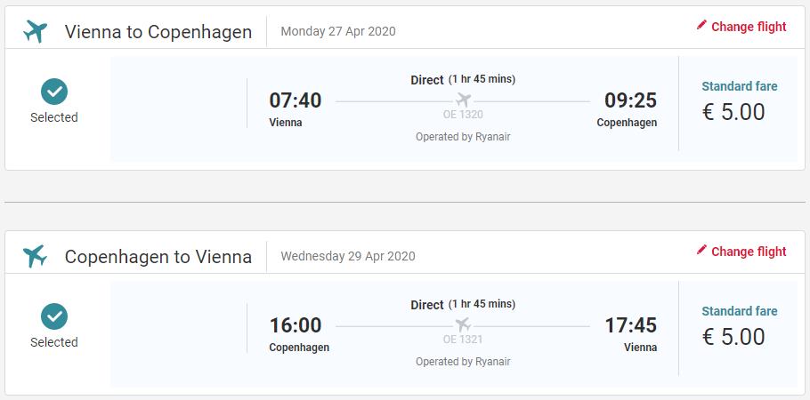 Dánsko - Kodaň z Viedne s letenkami od 10 eur