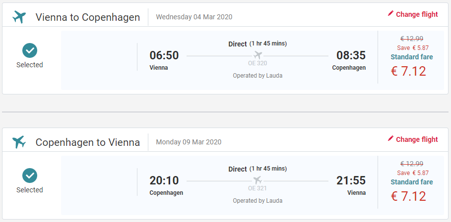 Dánsko - Kodaň z Viedne s letenkami od 14 eur