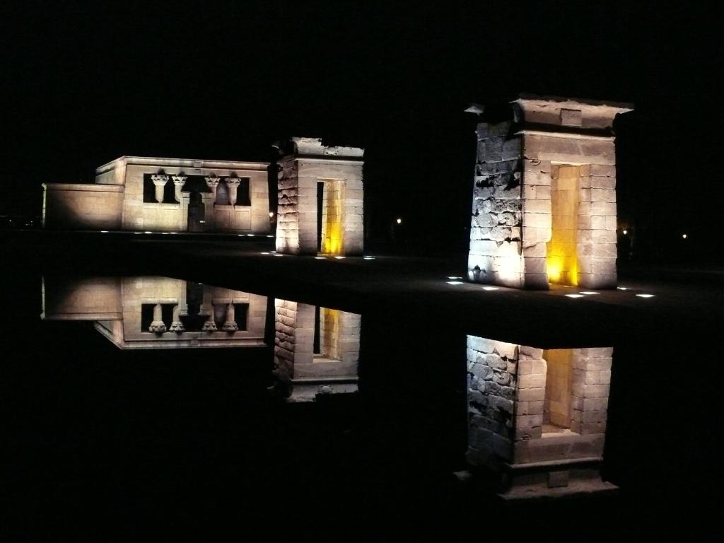 Egypt v Španielsku – unikátny chrám Templo de Debod.
