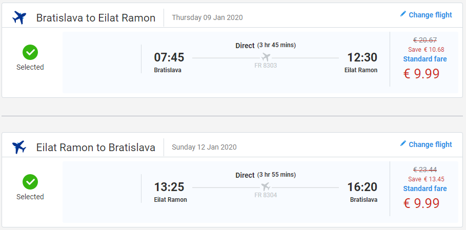 Eilat aj na predĺžený víkend. Letenky z Bratislavy od 20 eur