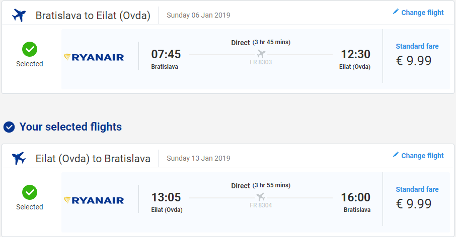 Eilat z Bratislavy s letenkami už od 20 eur