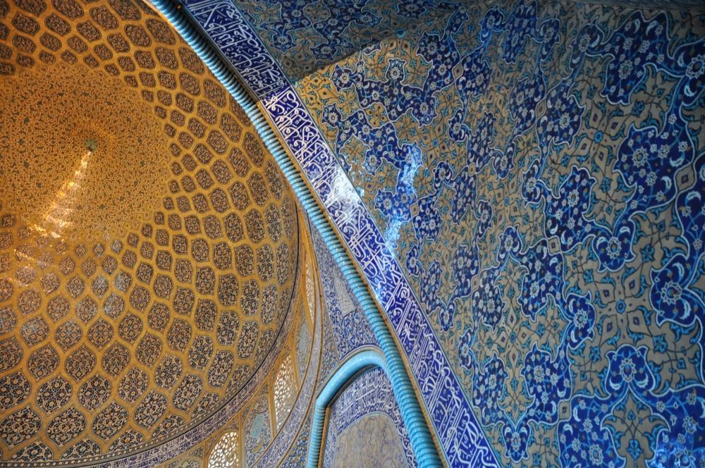 Esfahan - dokonalosť perzskej architektúry v mešite šejka Lotfollaha