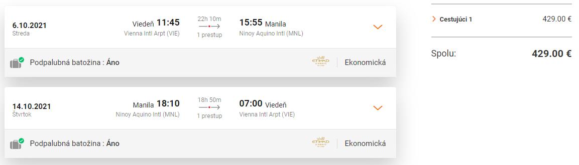 FILIPÍNY - Manila z Viedne s letenkami od 429 eur