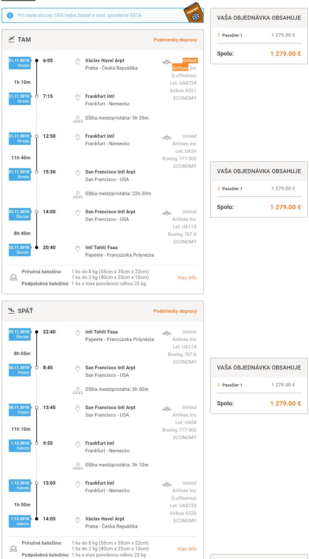 FRANCÚZSKA POLYNÉZIA - Tahiti z Prahy s letenkami od 1279 eur