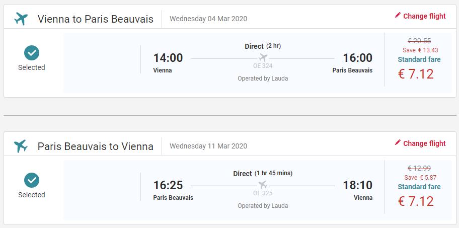 FRANCÚZSKO - Paríž z Viedne s letenkami od 14 eur