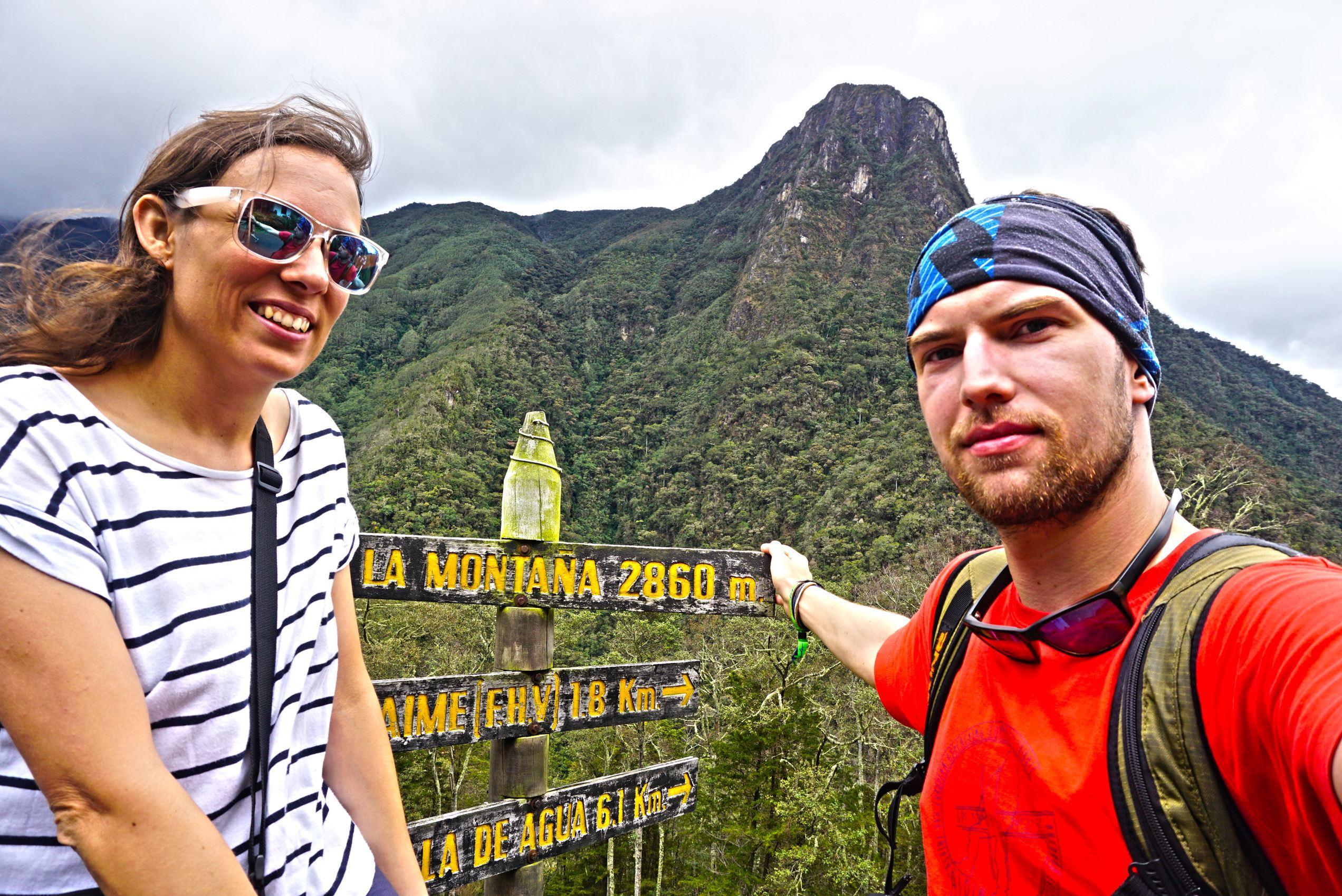 Finca La Montana vo výške 2860 m.n.m.