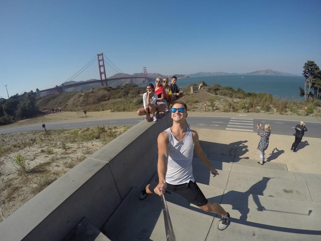 Zastávka prvá: Golden Gate bridge