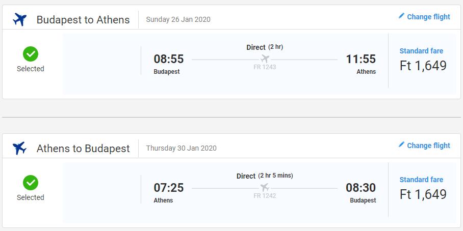 GRÉCKO - Atény z Budapešti s letenkami od 10 eur