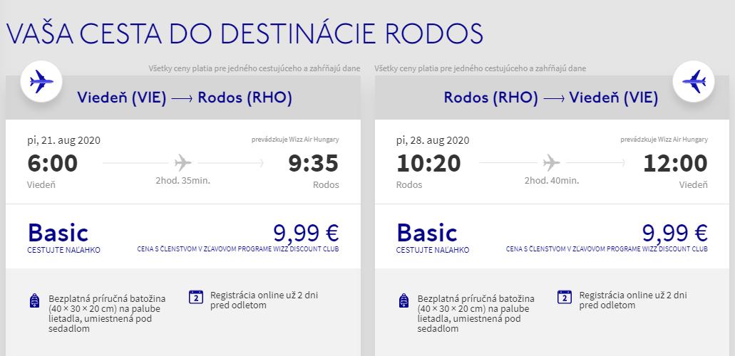 Grécky Rhodos koncom prázdnin s letenkami od 20 eur