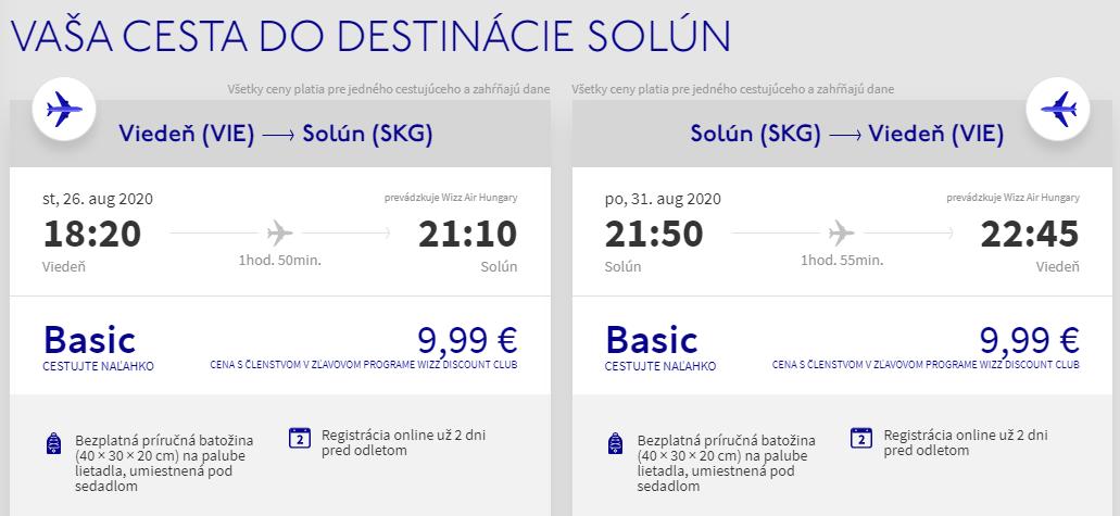 Grécky Solún koncom prázdnin. Letenky z Viedne už od 20 eur