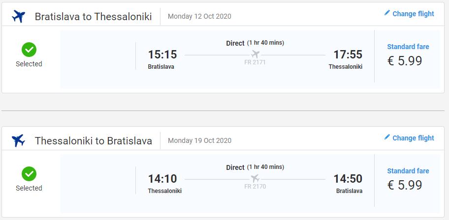 Grécky Solún počas jesene. Letenky z Bratislavy už od 12 eur