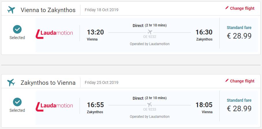 Grécky ostrov Zakyntos z Viedne koncom sezóny s letenkami od 58 eur