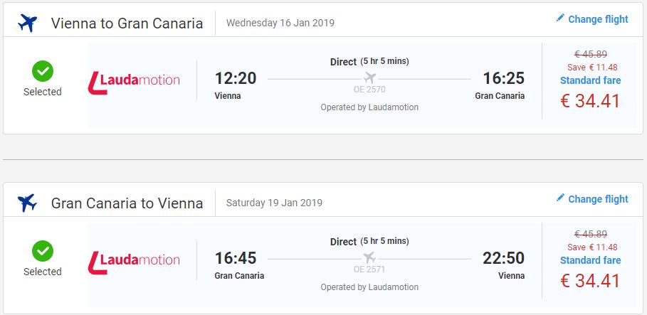 Gran Canaria z Viedne aj na predĺžený víkend od 69 eur