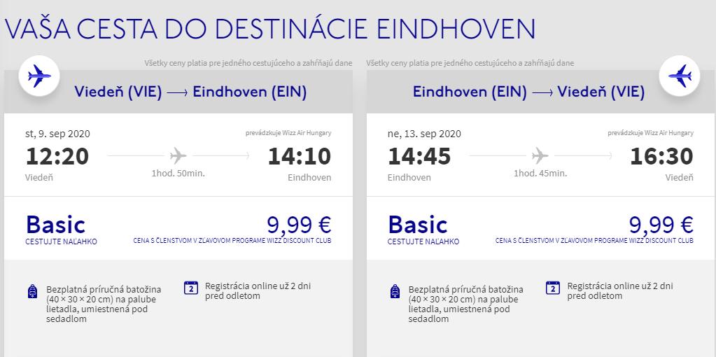 HOLANDSKO - Eindhoven z Viedne s letenkami od 20 eur