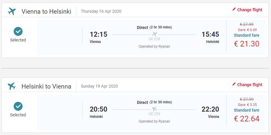 Helsinky z Viedne aj na predĺžený víkend s letenkami od 44 eur