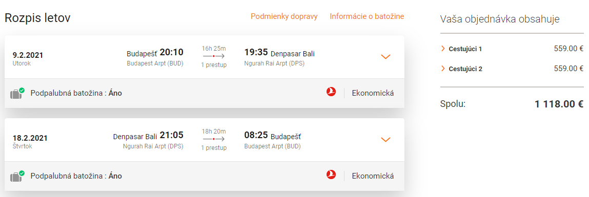 INDONÉZIA S TURKISH AIRLINES - Bali z Budapešti s letenkami od 559 eur