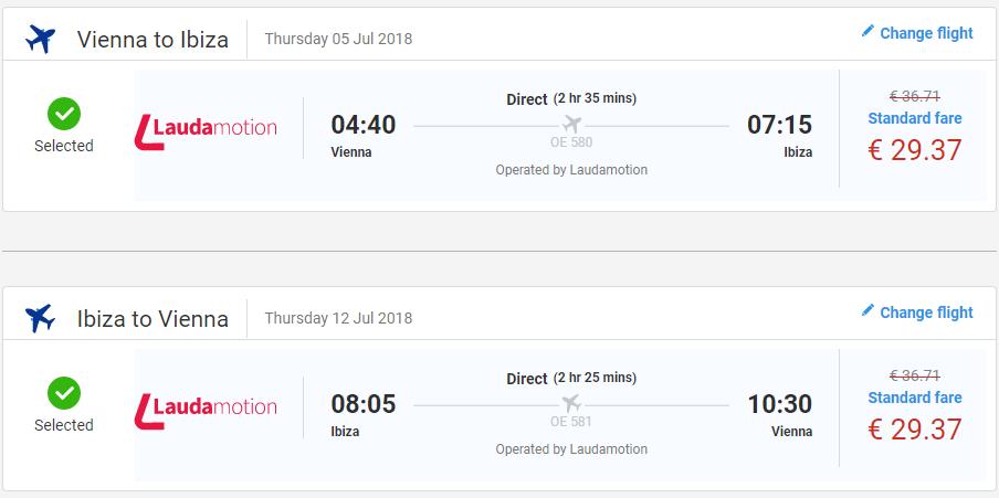 Ibiza z Viedne cez letné prázdniny s letenkami už od 59 eur