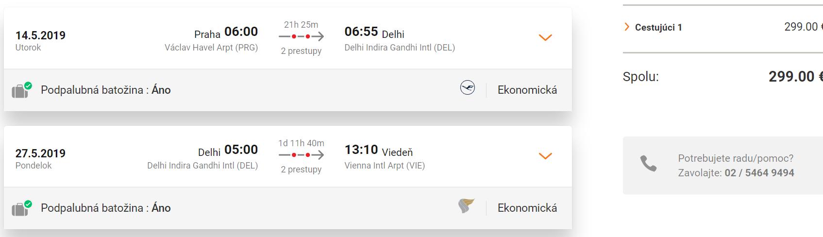 Indické Dillí s multi-city letenkami už od 299 eur