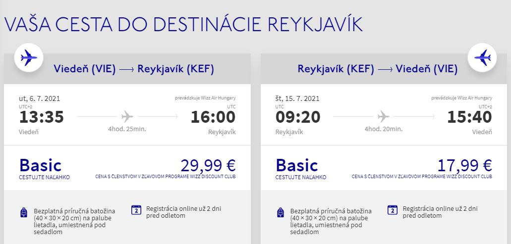 Island cez letné prázdniny s letenkami z Viedne od 48 eur