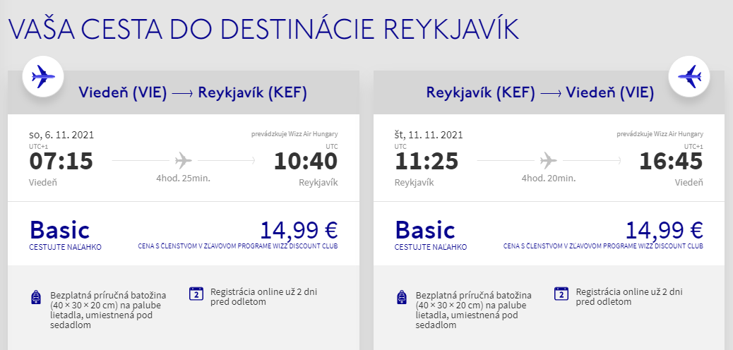 Island počas jesene s letenkami z Viedne od 30 eur
