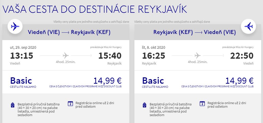 Island začiatkom jesene. Letenky z Viedne už od 30 eur