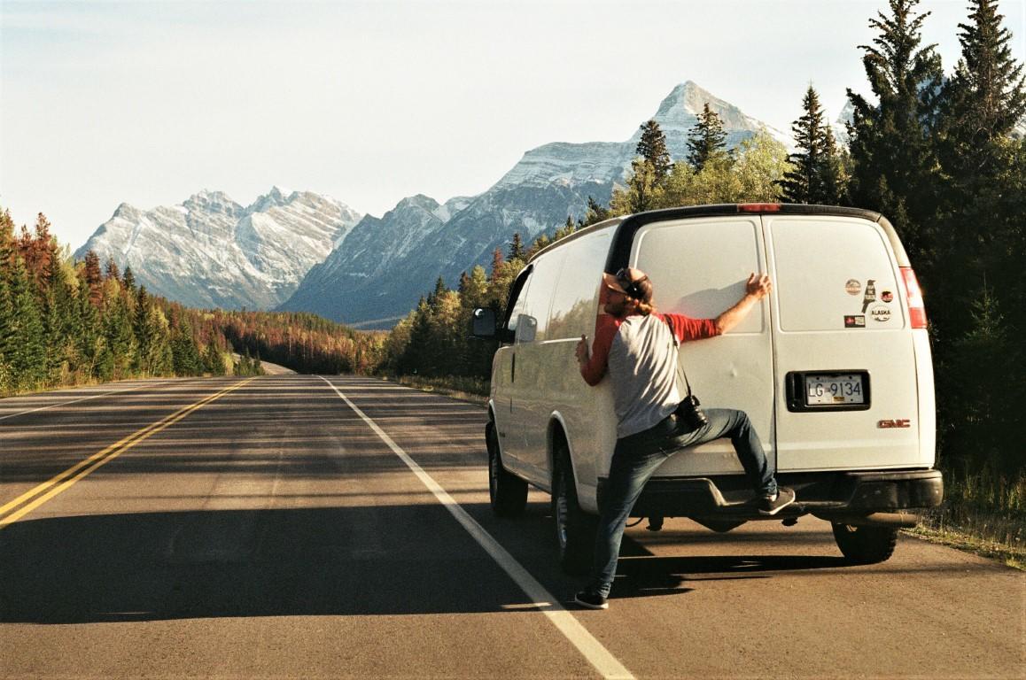Ja, Moby a cesta do Rockies, Hanko