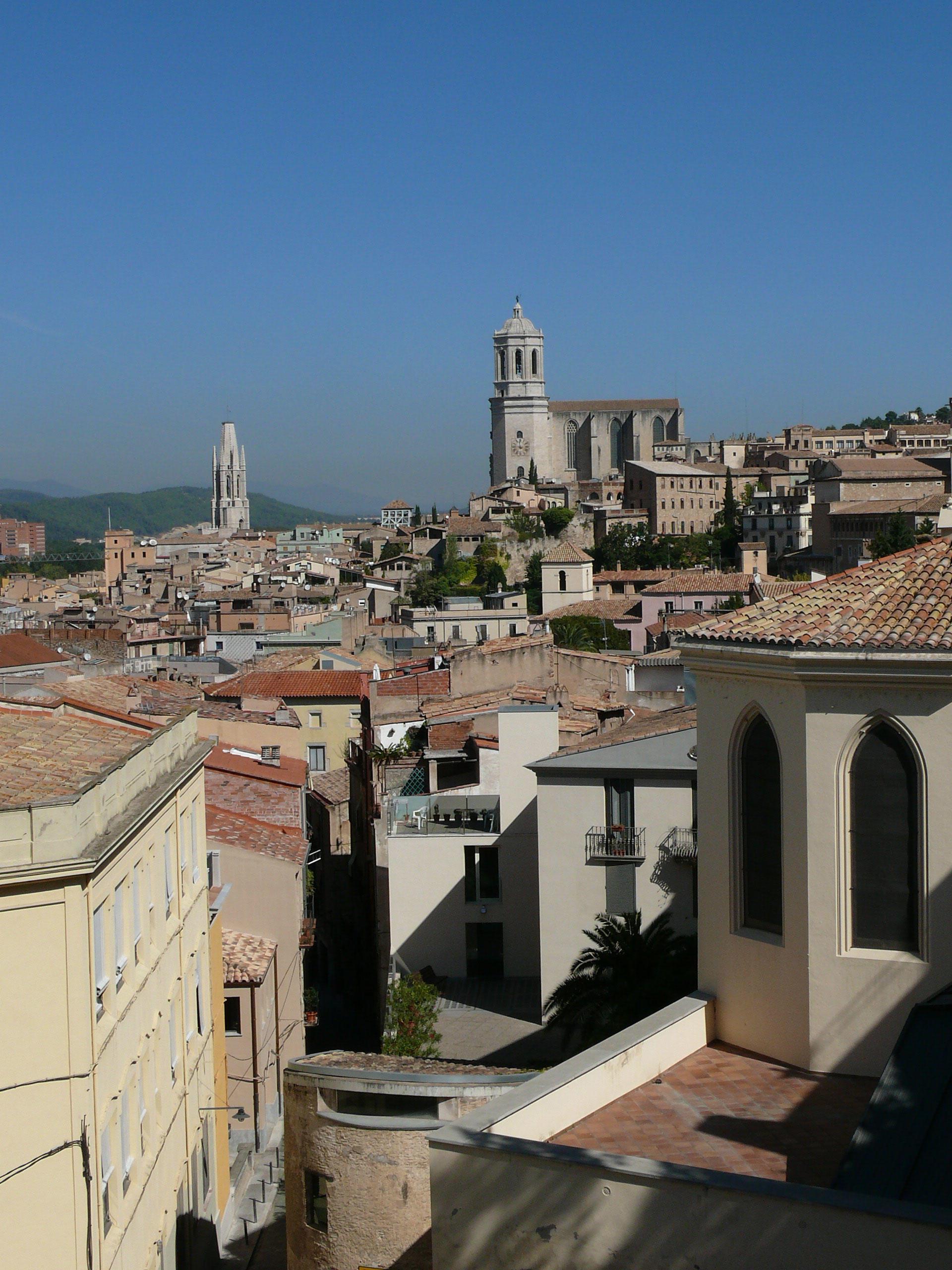 Jeden z mnohých výhľadov na katalánsku Gironu