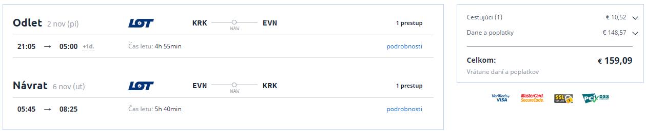 Jerevan z Krakova od 159 eur