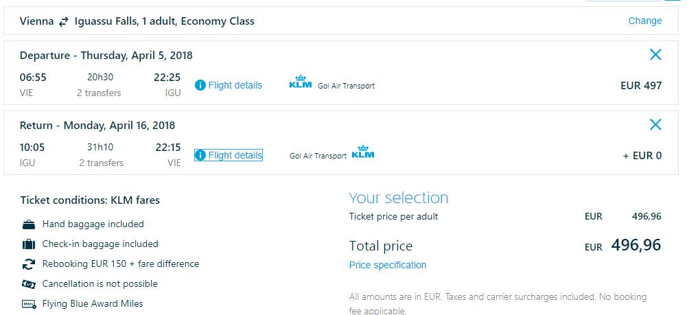 Juhoamerický Paraguaj s odletom z Viedne od 497 eur