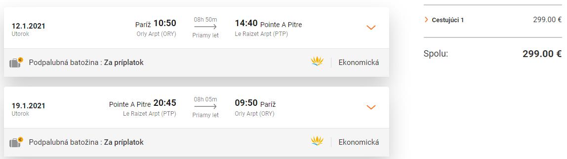 KARIBIK - Guadaloupe s letenkami z Paríža od 299 eur
