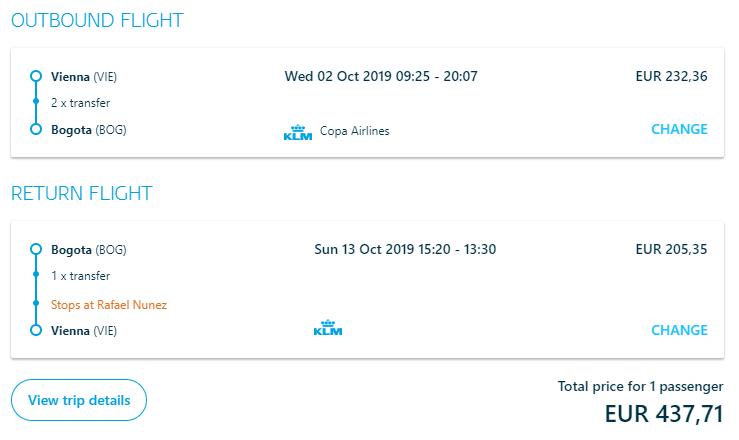 KOLUMBIA - Letenky z Viedne do Bogoty od 438 eur