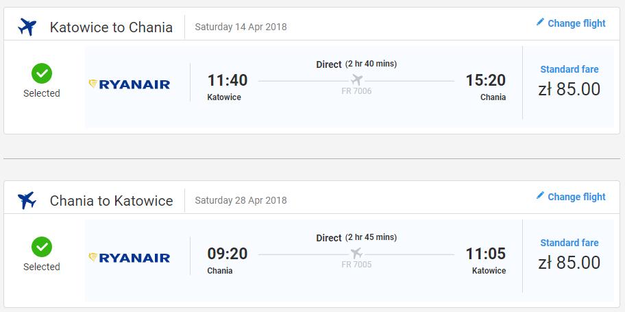 KRÉTA - Chania z Katovíc v jarných termínoch od 40 eur
