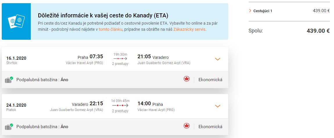 KUBA - Varadero z Prahy s letenkami od 439 eur
