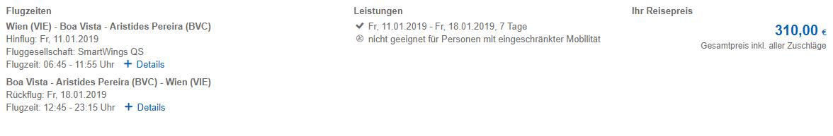 Kapverdy z Viedne v januárových termínoch s letenkami od 310 eur