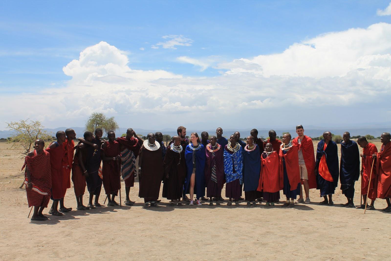 Kmeň Massaiov, tradičných tanzánskych domorodcov
