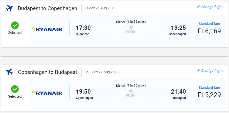 Kodaň cez letné prázdniny od 36 eur