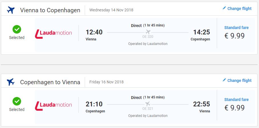 Kodaň v jesenných termínoch od 20 eur