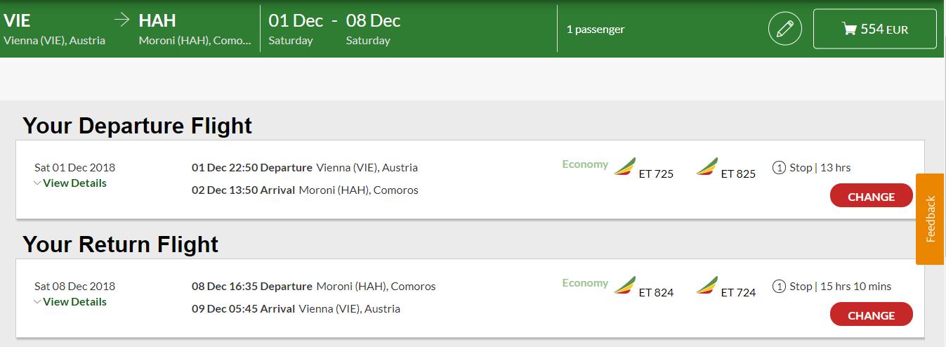 Komorské ostrovy z Viedne s letenkami už od 554 eur