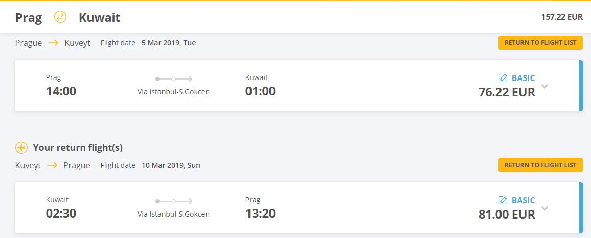 Kuvajt z Prahy aj na predĺžený víkend. Spiatočné letenky od 157 eur