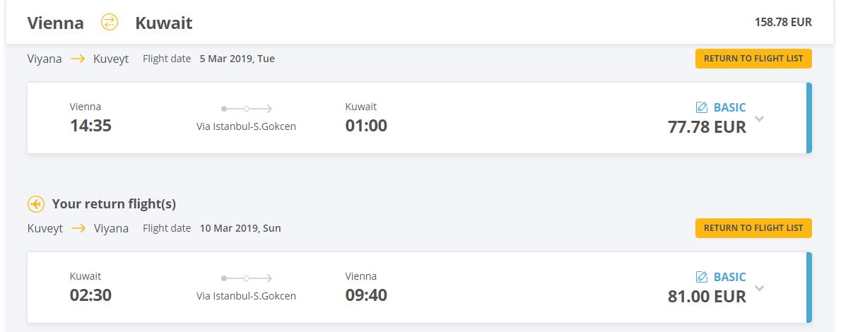 Kuvajt z Viedne aj na predĺžený víkend. Spiatočné letenky od 157 eur